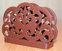 Салфетница, ДК-020, шоколадно-коричневый