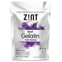Z!NT, Beef Gelatin, Чистый Протеин, 16 унций (454г)