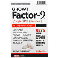 """Novex Biotech,  """"Фактор роста-9"""", 120 капсул"""