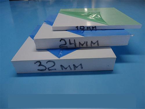 Сэндвич панель 32 мм односторон 1500х3000 (1 мм ПВХ с одной стороны) Порезка, Наложенный платеж, НДС