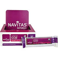 Navitas Organics, Superfood + Goji, Goji Acai, Tangy Berry, 12 Bars, 16.8 oz (480 g)