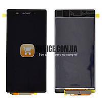 Дисплей Sony Xperia Z2 D6502, D6503 с тачскрином в сборе, цвет черный, маленькая микросхема ЛУЧШАЯ ЦЕНА + ПОДАРОК