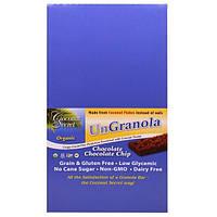 Coconut Secret, Батончик Ungranola, Органическая Крошка Шоколадного Шоколада, 12 батончиков, по 1,2 унции (34g) каждый