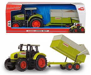 Трактор CLAAS с прицепом, 57 см «Dickie Toys» (3739000), фото 2