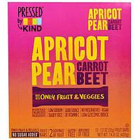 KIND Bars, Pressed by KIND, абрикос, груша, морковь и свекла, 12 фруктовых батончиков - 1,2 унции (35 г) каждый