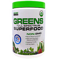 """Labrada Nutrition, """"Зелень, полный спектр суперпродуктов"""" из серии """"Пища для стройного тела"""", зеленый комплекс самых разных суперпродуктов, 7,4 унции"""