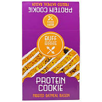 Buff Bake, Protein Cookie, Frosted Oatmeal Raisin, 12-2.82 oz (80 g) Cookies