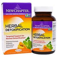 New Chapter, Травяная детоксикация, 60 мягких капсул