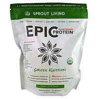 Sprout Living, Протеин Epic Protein, зеленое королевство, 1 кг (1000 г)