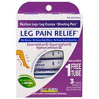 Boiron, Leg Pain Relief, 3 Tubes, 80 Quick-Dissolving Pellets Each