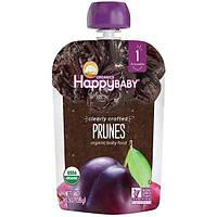 Nurture Inc. (Happy Baby), Органическое детское питание, искусно изготовленный чернослив, этап 1, старше 4 месяцев, 3,5 унции (99 г)