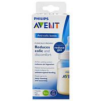 Philips Avent, Антиколиковая бутылочка, от 1 месяца, 1 бутылочка, 9 унций (260 мл)
