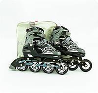 Ролики (размер 35-38, металл, колёса ПУ) RS16061C