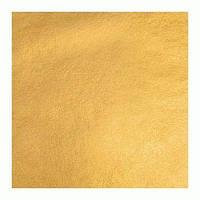 Поталь в листах 14х14 см, насыщенное золото 50 листов