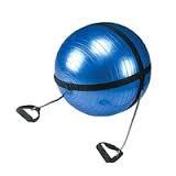 Мяч для фитнеса с эспандерами d 75 см