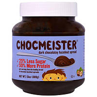 "Peanut Butter and Co., ""Шокмейстер"", паста из фундука со вкусом черного шоколада, 13 унций (369 г)"