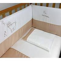 Защита для кроватки Sweet Dreams Верес, beige