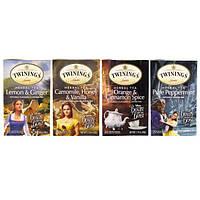 Twinings, Набор травяных чаев, специальная серия, Красавица и Чудовище, 4 коробки по 20 пакетиков