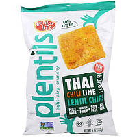 Enjoy Life Foods, Plentils, Lentil Chips, Thai Chili Lime Flavor , 4 oz (113 g)