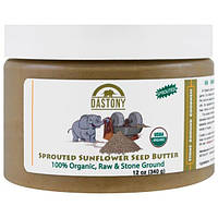Dastony, 100% Organic, Sprouted Sunflower Seed Butter, 12 oz (340 g)