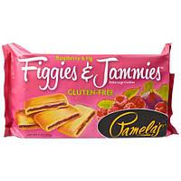 Pamela's Products, Figgies и Jammies, очень большие печенья, малина и инжир, 9 унций(255 г)