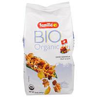 Familia, Bio Organic, Швейцарская Гранола, Фрукты и орехи, 13 унций (369 г)