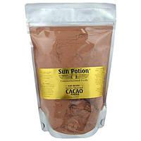 Sun Potion, Органический  порошок из Сырого Arriba Nacional Какао, 0,66 фунта (300 г)