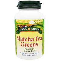 Sunny Green, Порошок из зеленого чая Matcha для приготовления напитка, 2.4 унции(67.5 г)
