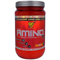 BSN, Amino-X, Endurance and Recovery Agent, Strawberry Orange 15.3 oz (435 g)