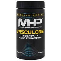 Maximum Human Performance, LLC, Премиальная серия, Vasculore, Legendary Pump Enhancer, 60 капсул