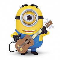 Интерактивный Миньйон Миньон, Посипака. Говорящий Стюарт с гитарой Minions Stuart Interacts with Guitar