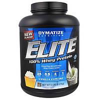 Dymatize Nutrition, Elite, Порошок 100-ного Сывороточного Протеина, Ванильный кекс, 5 фунтов (2,27 кг)