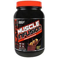 Nutrex Research Labs, Развитие мышц, улучшенная формула протеиновой смеси, шоколадно-банановые кранчи, 2 фунта (907 г)