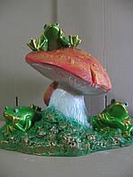 Лягушки на грибе 37 см.