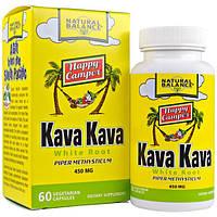 Natural Balance, Белый корень Кава Кава, 450 мг, 60 вегетарианских капсул