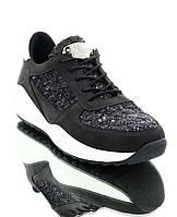 Кросівки жіночі чорні, нубук (2802 чн. Нб) Romastyle