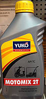 Масло 2-х тактное Yuko 1 литр