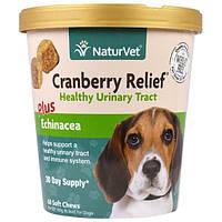 NaturVet, Cranberry Relief для собак плюс эхинацея, 60 мягких жевательных таблеток, 6,3 унц. (180 г)