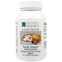 Thorne Research, Здоровье животных, Антиоксидант для мелких животных, 120 капсул