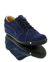 Кросівки жіночі сині, замш (2428 сн. Зш) Romastyle