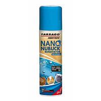Аэрозоль краска для замши Tarrago Nano Nubuck Renovator, 200 мл, цв. черный