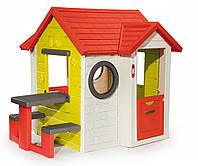 Игровые площадки «Smoby» (810401) домик На берегу моря со столом и звонком