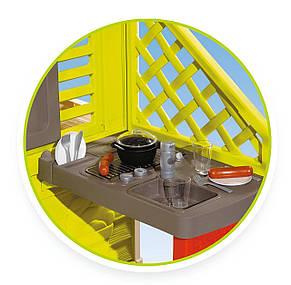 Игровые площадки «Smoby» (810713) домик Дачный с летней кухней, фото 2