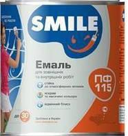 Smile Эмаль ПФ-115 Белая Стандарт 500г