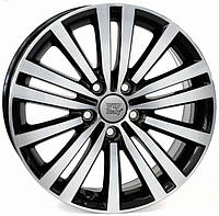 WSP-Italy W462 Altair glossy black poliched (R17 W7.5 PCD5x112 ET49 DIA57.1)