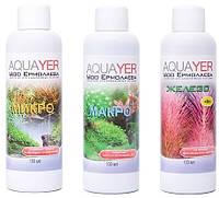 Набор удобрений AQUAYER Микро + Макро +Железо 100 мл, для аквариумных растений