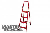 """MASTERTOOL  Лестница-стремянка металлическая """"МАСТЕР"""" 10 ступеней, h=2130 мм, max 150 кг, Арт.: 79-1050"""