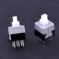 Кнопка PSM 8,5х8,5 с фиксацией (KLS7-P8.5X8.5-1)