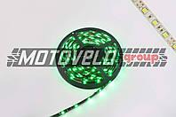 Лента светодиодная SMD 5050 (зеленая, влагостойкая, 30 крист/1м, бухта 5м)