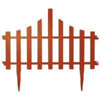 Заборчик для газона 65*55 см набор 4 секции